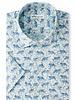 Peter Millar Peter Millar Short Sleeve Cotton-Blend Sport Shirt