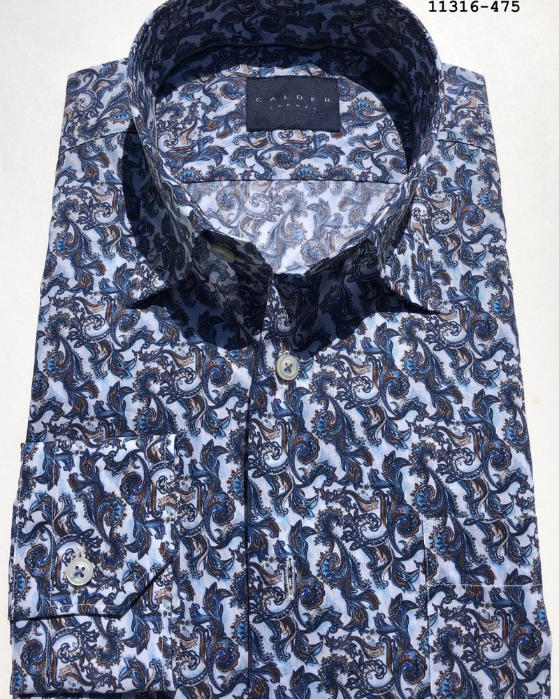 Calder Calder Spring Print Sport Shirt