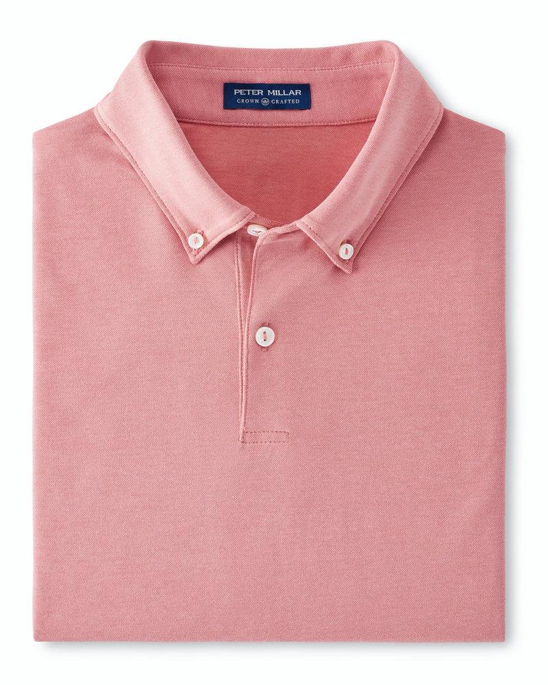 Peter Millar Peter Millar Polo with Button-Down Collar