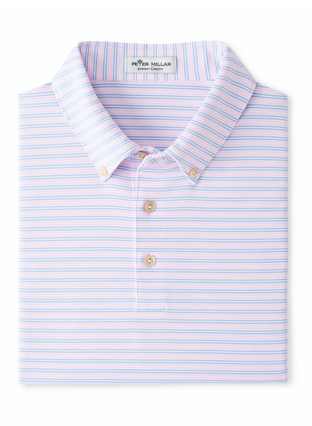 Peter Millar Peter Millar Polo with Button-Down Collar
