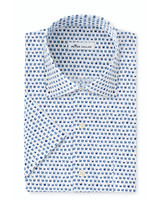 Peter Millar Peter Millar On The Rocks Cotton-Blend Short-Sleeve Sport Shirt