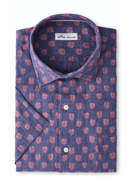 Peter Millar Peter Millar Short Sleeve Linen Sport Shirt