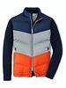 Peter Millar Peter Millar Apres Ski Vest Navy Silver and Orange