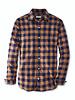 Peter Millar Peter Millar Autumn Soft Tripp Cotton  Sport Shirt Navy