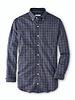Peter Millar Peter Millar Crown Lite Parksville Cotton Blend Sport Shirt Navy