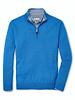 Peter Millar Peter Millar Crown Soft Merino Silk 1/4 Zip Alpine Blue