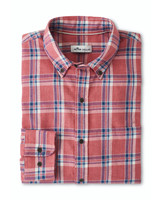 Peter Millar Peter Millar Sherbrook Cotton Sport Shirt Amaranth