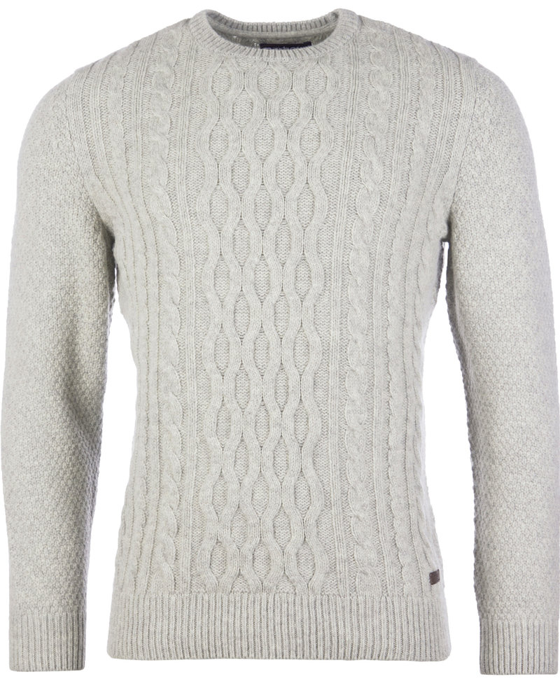 Barbour Barbour Chunky Cable Crew Neck  Sweater