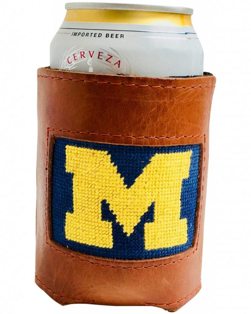 Smathers & Branson Smathers & Branson M Needlepoint Can Cooler