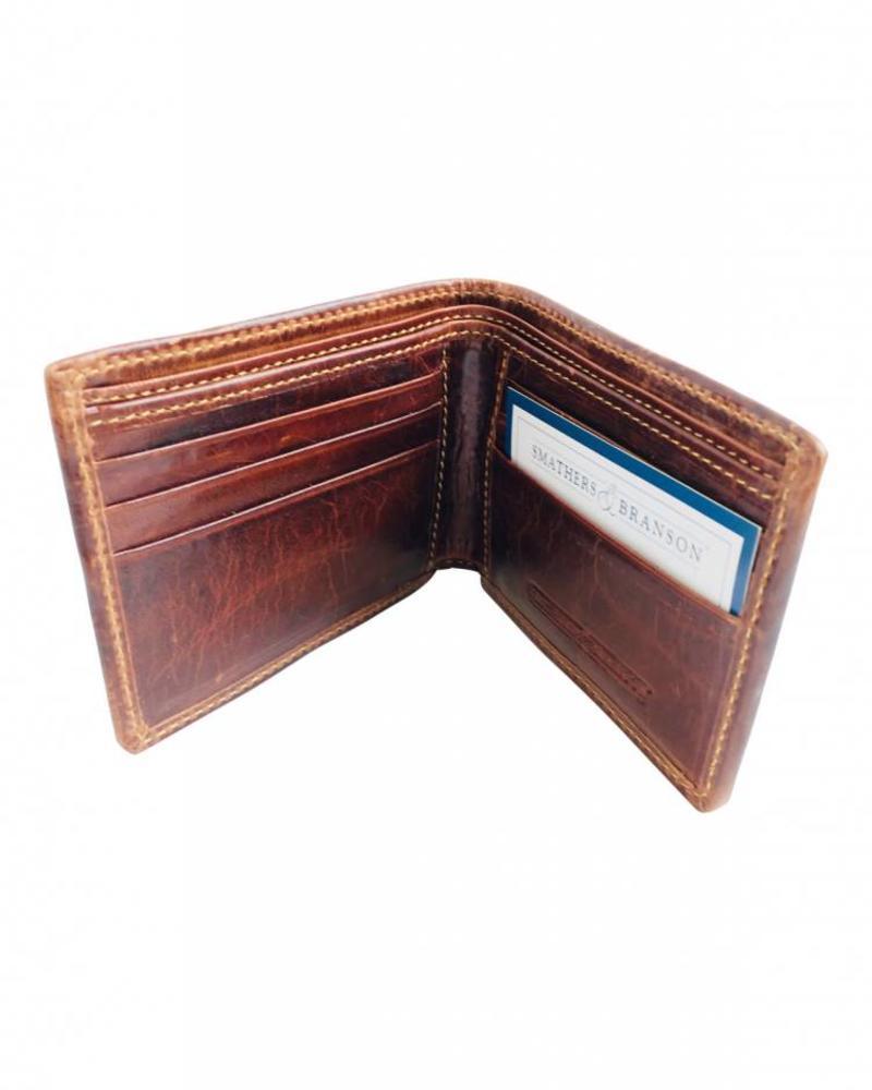 Smathers & Branson Smathers & Branson M Needlepoint Bi-Fold Wallet