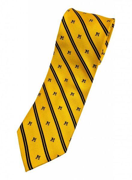 Amanda Christensen A. Christensen M Silk Tie Stripe - Maize