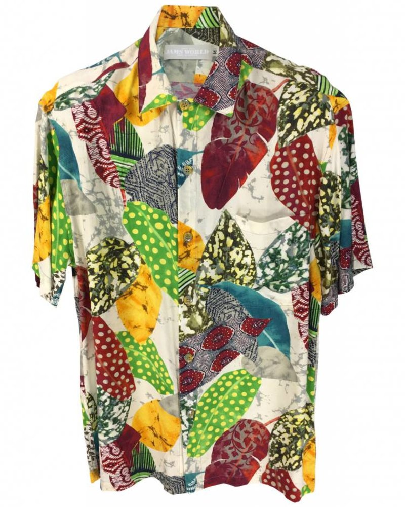 Jams World Mens Retro Shirt - Speckle