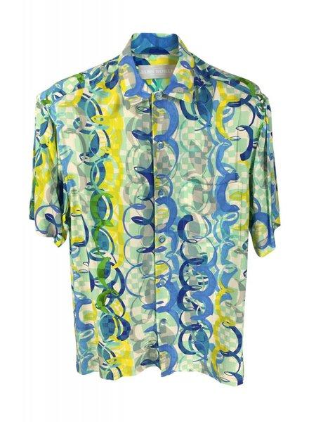 Jams World Mens Retro Shirt - Ocean Party
