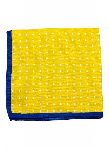 A. Christensen A. Christensen Silk Pocket Square - Maize