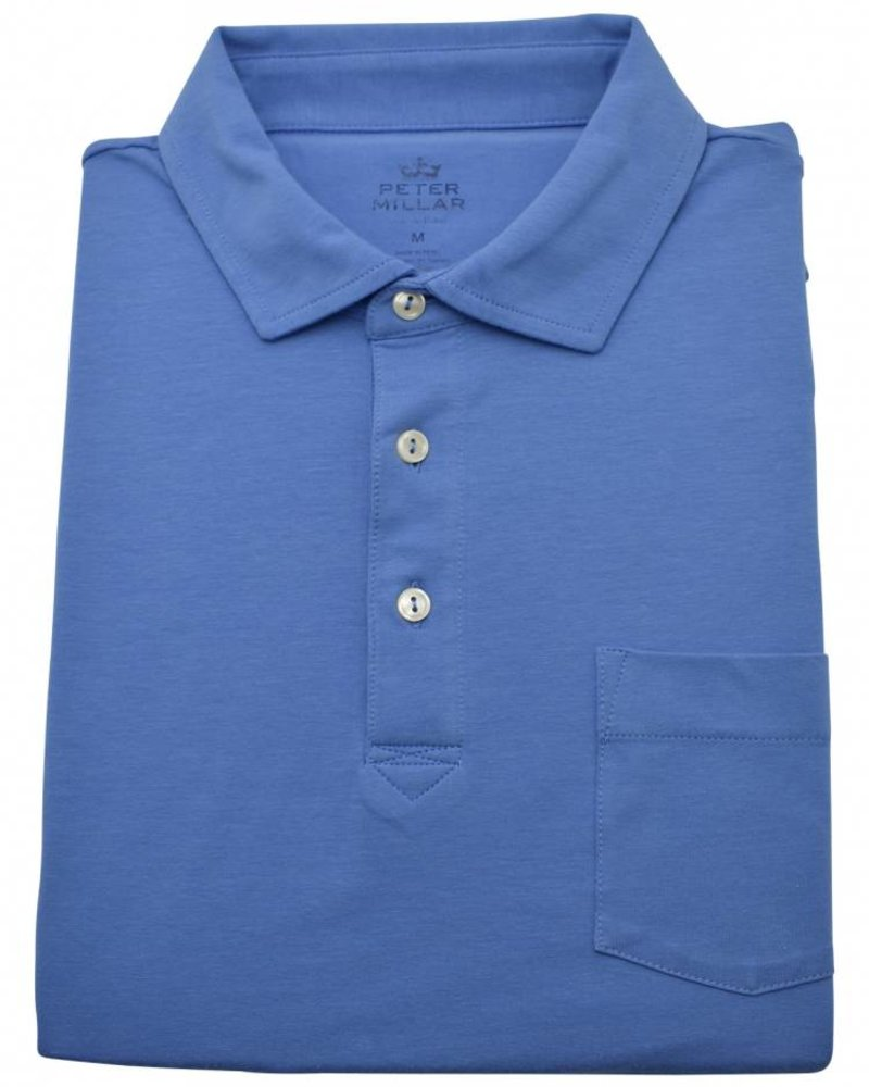 Peter Millar Peter Millar Solid Seaside Wash Polo