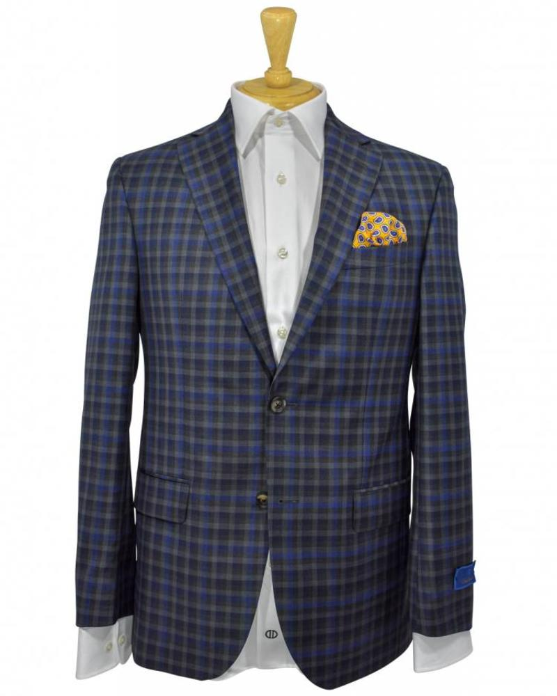 David Donahue David Donahue Classic Fit Plaid Wool Sport Coat