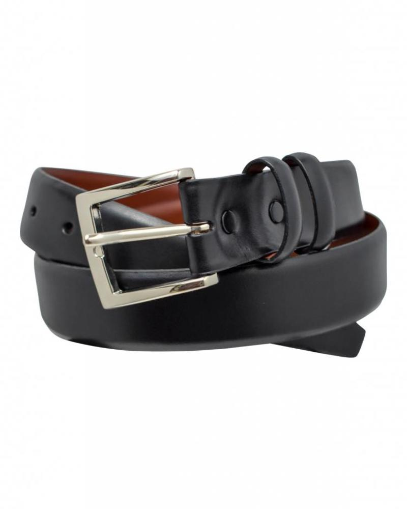 Torino Torino Italian Calfskin Leather Belt - Black