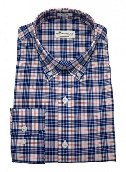 Peter Millar Peter Millar Crown Vintage Americana Plaid Sport Shirt
