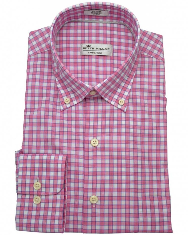 Peter Millar Peter Millar Crown Finish Marsh Glen Check Sport Shirt