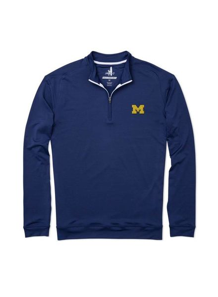 Johnnie-O Johnnie-O Flex Prep Performance Michigan 1/4 Zip Pullover - Twilight