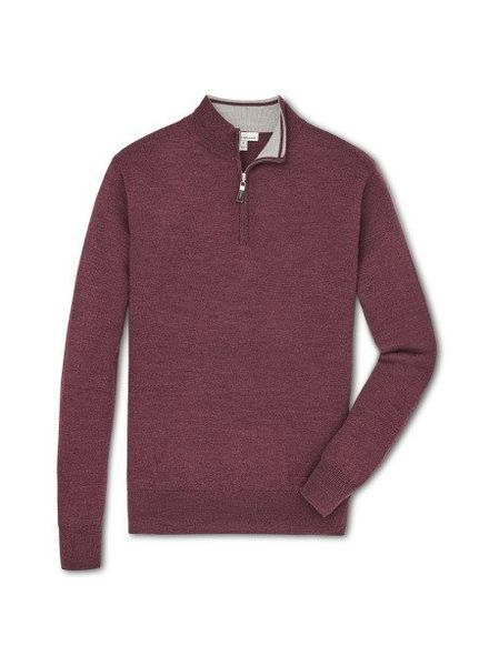 Peter Millar Peter Millar Crown Soft Quarter Zip Sweater - Autumn Foliage