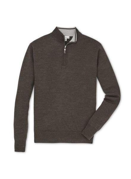 Peter Millar Peter Millar Crown Soft Quarter Zip Sweater - Branch