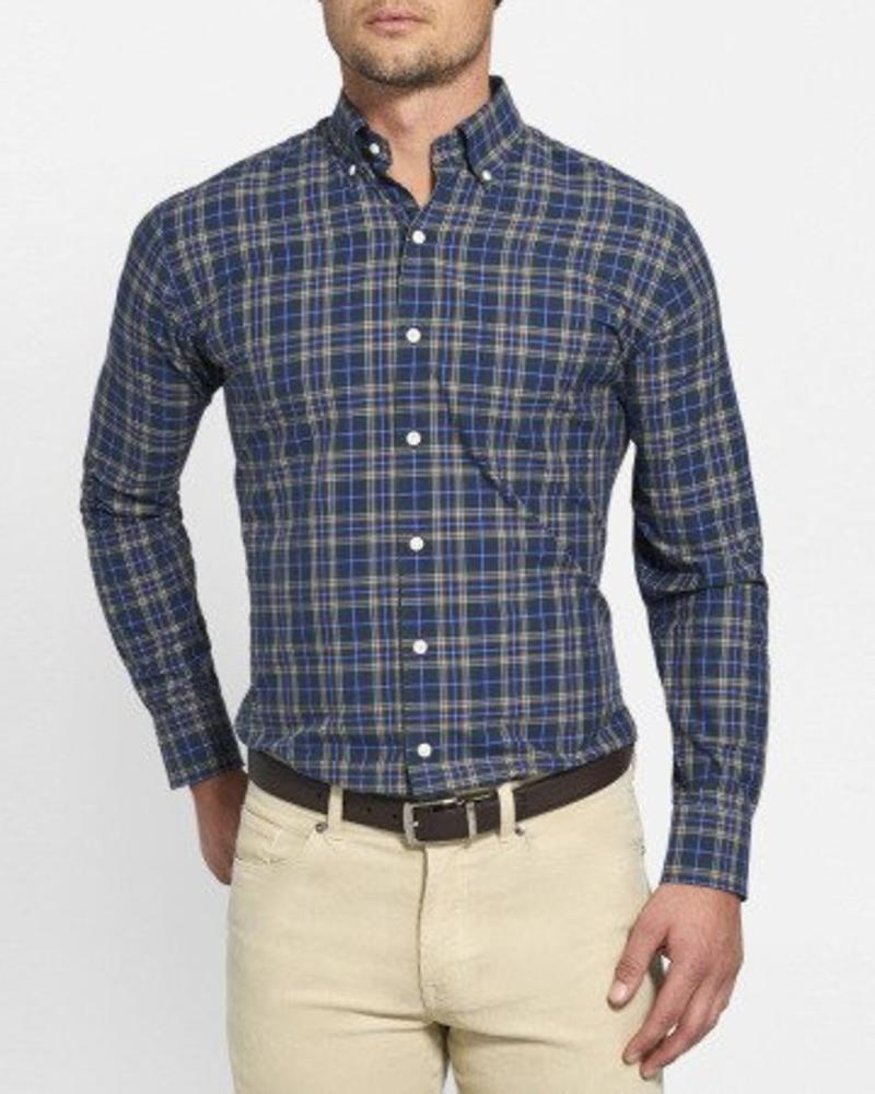 Peter Millar Peter Millar Crown Finish Flatey Island Tartan Shirt - Woodland