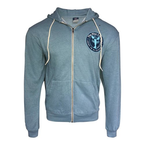 MV The Blue Lobster Full Zip Sweatshirt