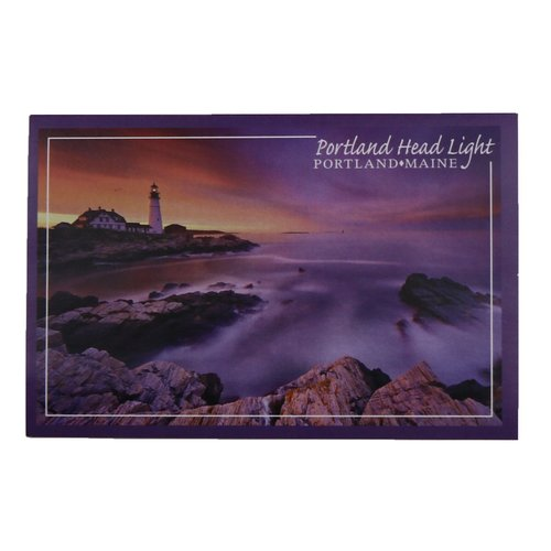 Lantern Press 48780-Sticker-Portland Sunrise Photo