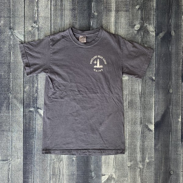 Austins Chart Map Portland Head Light T-shirt