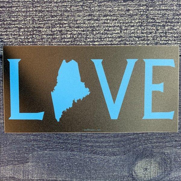 Blue 84 Sticker- Blue Love State