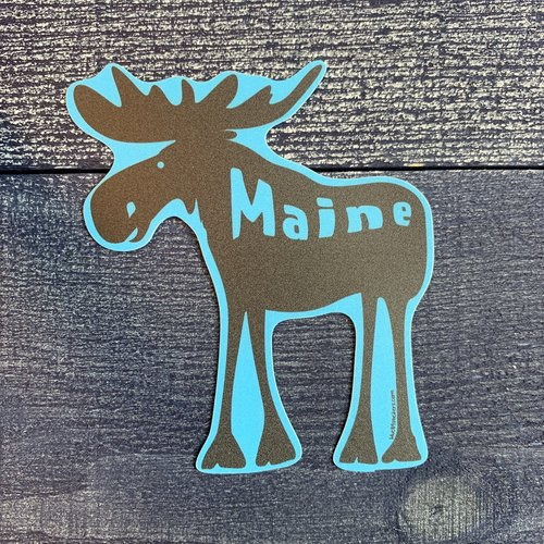 Blue 84 Roddy Reego Moose Sticker