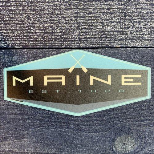 Blue 84 After Burner Paddles Sticker