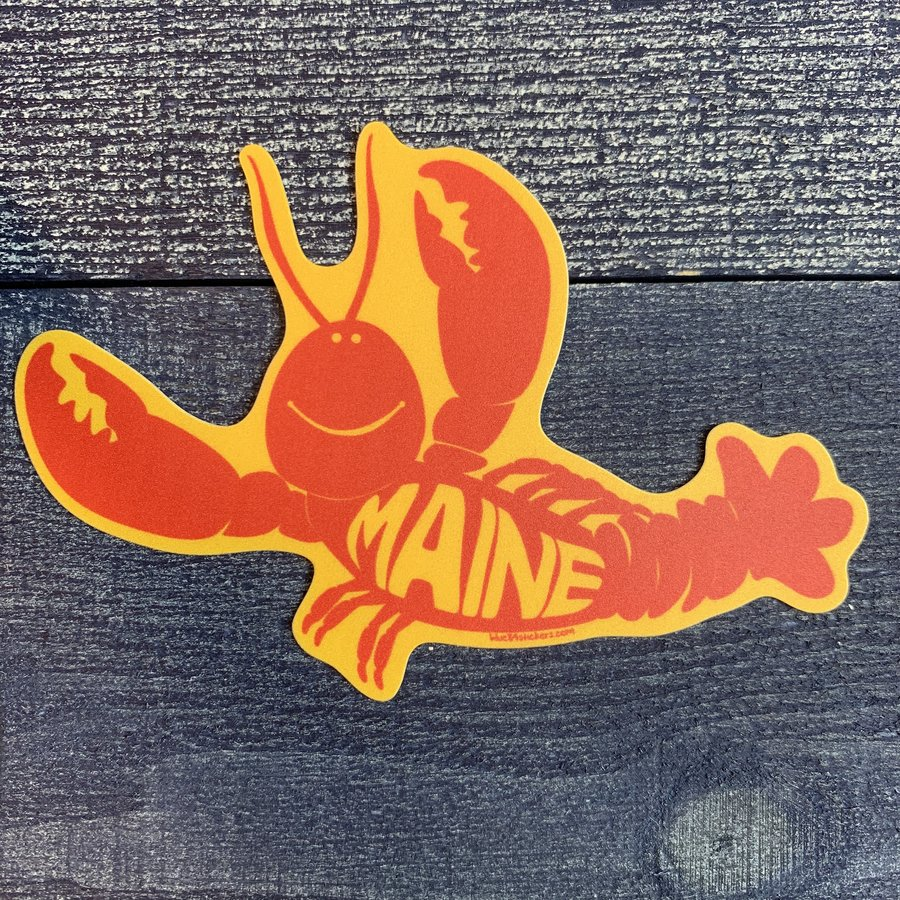 Blue 84 Roddy Reego Lobster Sticker
