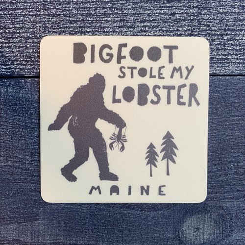 Blue 84 Bigfoot Stole Lobster Sticker