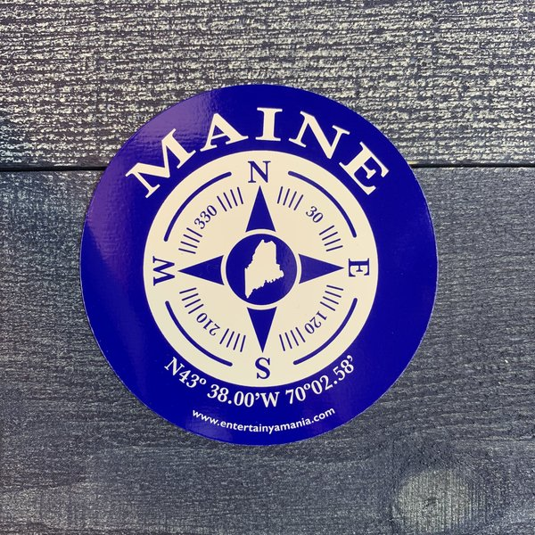 Entertainya B452-Sticker-Round Compass Rose