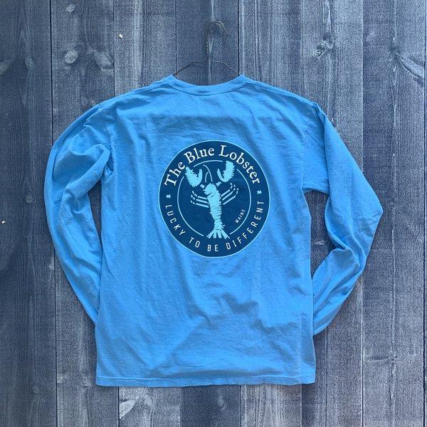 Coed The Blue Lobster Longsleeve T-shirt- Royal Carib