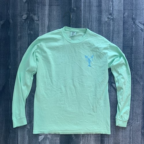Coed The Blue Lobster Longsleeve T-shirt-Reef