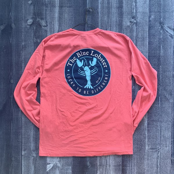 Coed The Blue Lobster Longsleeve T-shirt- Watermelon