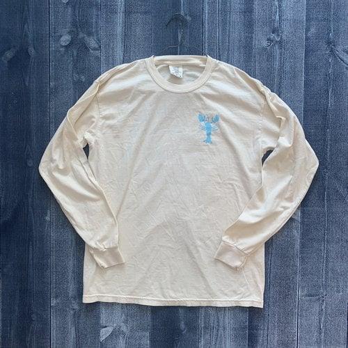 Coed The Blue Lobster Longsleeve T-shirt- Ivory