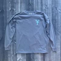 Coed The Blue Lobster Longsleeve T-shirt- Blue Jean