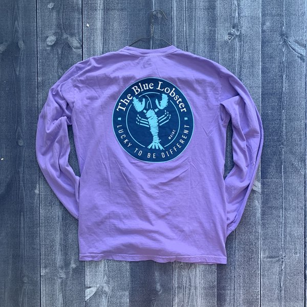 Coed The Blue Lobster Longsleeve T-shirt- Violet