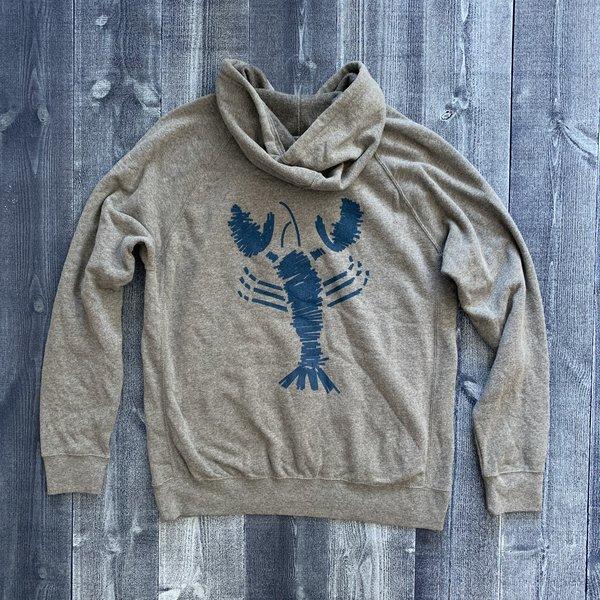 Planet Cotton The Blue Lobster Soft Willard Hoodie