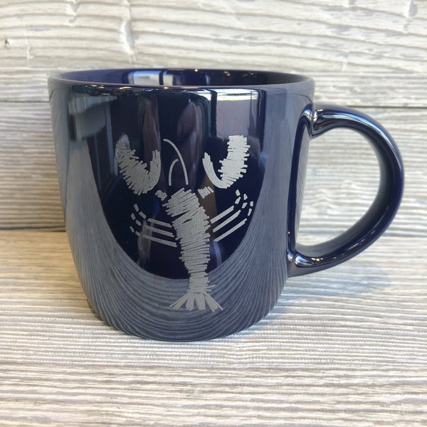 Entertainya The Blue Lobster Lustre Mug- Available in Five Colors!!