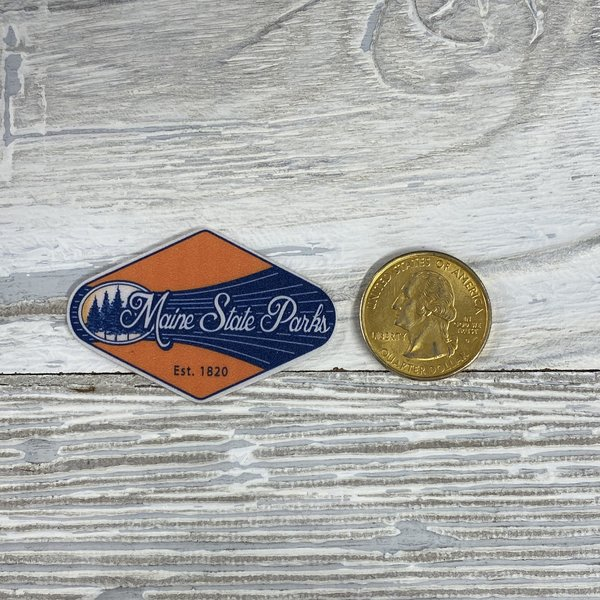 Blue 84 Mini Sticker- Dreamer Pine