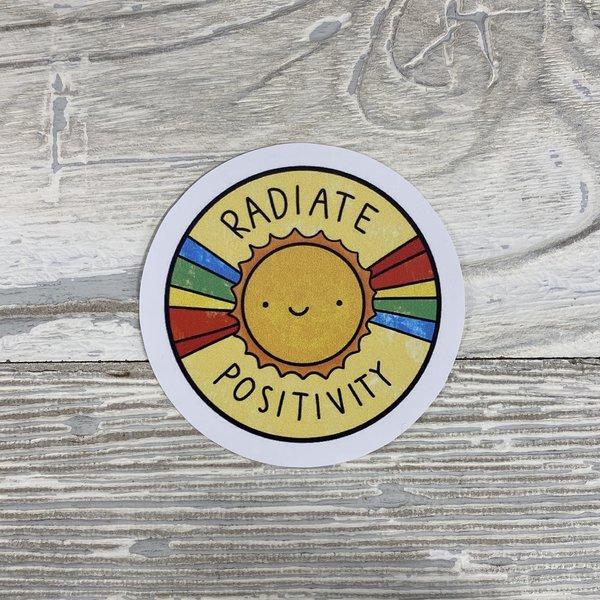 Bumwraps Radiate-Sticker
