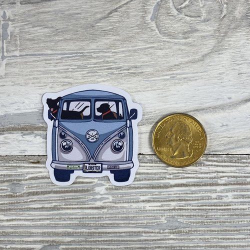 Bumwraps Lab Trip-Mini Sticker