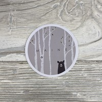 Bumwraps Can't See Me-Sticker