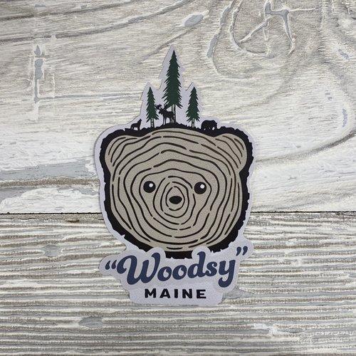 Bumwraps Woodsy-Sticker