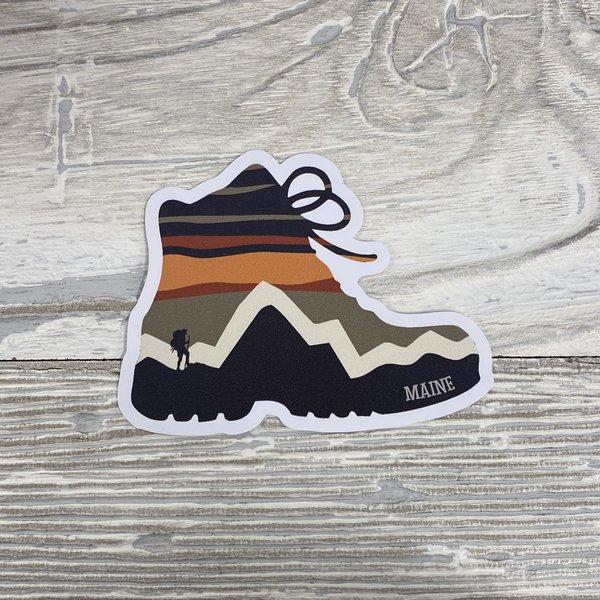 Bumwraps STR Hike-Sticker